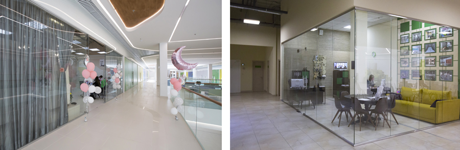 Photo Complex solutions from decoration through to safety: NAYADA's design for the shopping mall 4DAILY