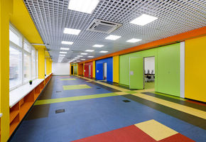 Before and after: the colorful transformation of the A.P. Gaydar Palace of Creativity for Children and Youth by NAYADA