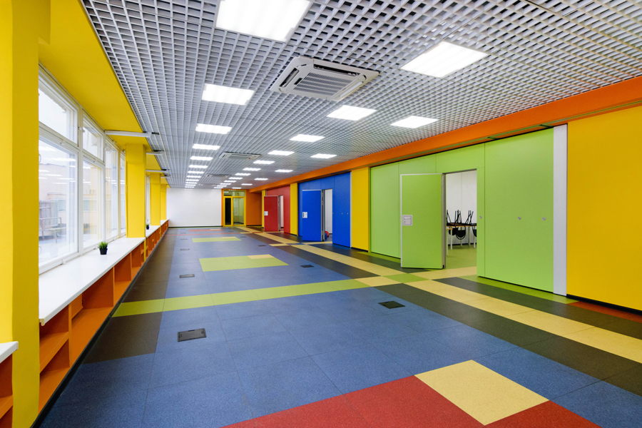 Photo Before and after: the colorful transformation of the A.P. Gaydar Palace of Creativity for Children and Youth by NAYADA