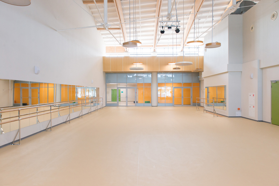 Photo New philosophy of school space: NAYADA for the Skolkovo International Gymnasium in the Family Campus