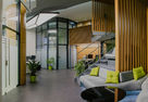 Eco-style and deconstructivism for inspiration: Office for an IT company in Rostov-on-Don