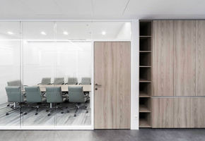 Cleanliness of space without any visual noise: NAYADA for the Grain Company