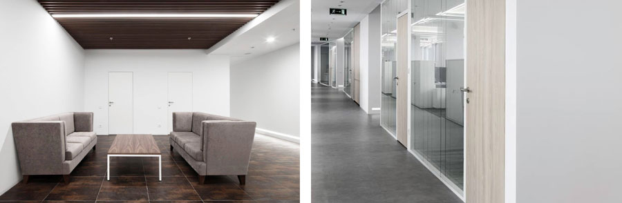 Photo Cleanliness of space without any visual noise: NAYADA for the Grain Company