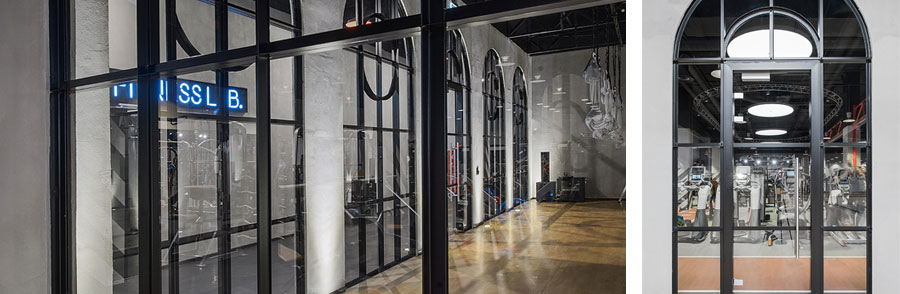 Photo How the steel is tempered: NAYADA for the Lomov Gym fitness club