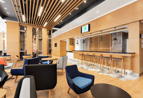 Travel in comfort: NAYADA masters integrated development of public areas at Holiday Inn Express Sheremetyevo hotel