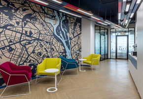 Dynamics and Comfort: NAYADA for IT Company Office in Kiev