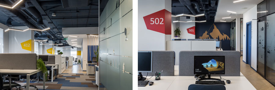 Photo Dynamics and Comfort: NAYADA for IT Company Office in Kiev