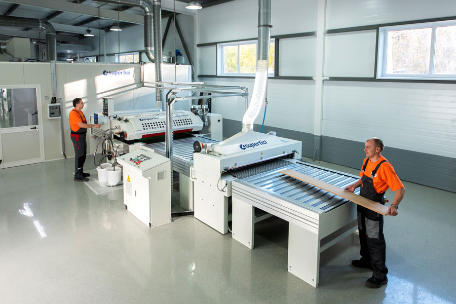 Photo NAYADA's New Production Feature: Automated Coating Line