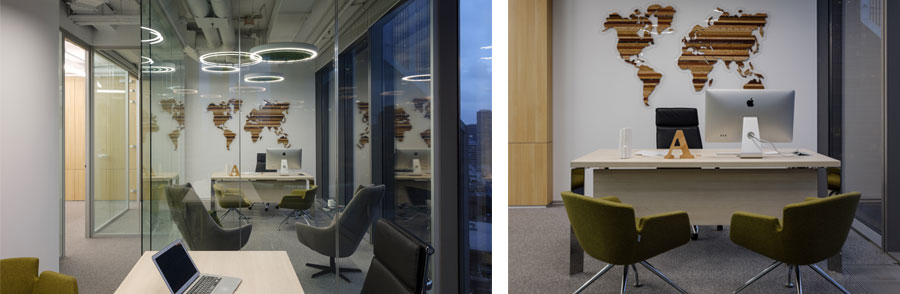 Photo Ultra-modern eco-office: NAYADA's integrated solutions for B2Broker