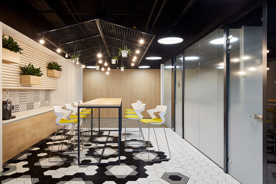 Photo Eco-friendly office in Workplace innovation format: NAYADA for Amway