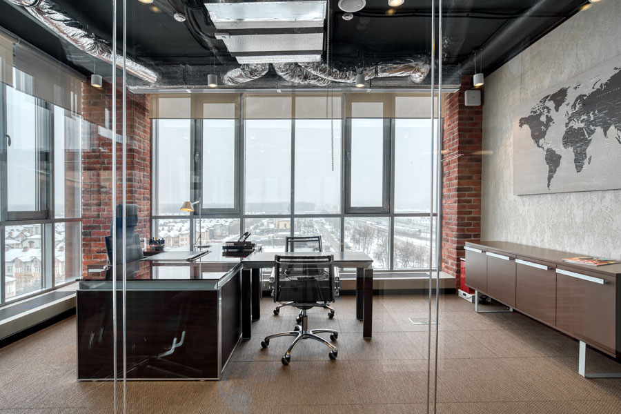 Photo Steampunk Office Style: NAYADA for IT-Company Compass Plus
