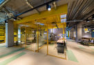NAYADA Decorated the Biggest Workki Network Co-Working in Moscow