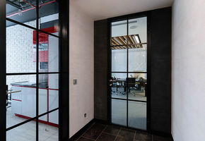 NAYADA - Quadro doors are suitable for installation in NAYADA partitions systems.