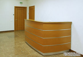 Reception counters in project Ansol Ltd.