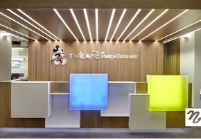 Reception counters in project The Walt Disney Company CIS