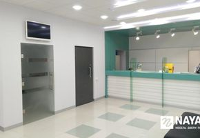 Reception counters in project Банк Зенит Сочи