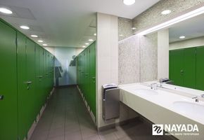 Sanitary partitions in project Krasny Kit TRC
