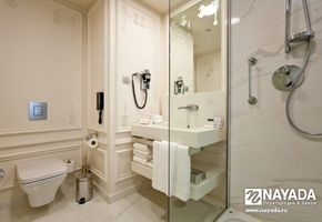 Sanitary partitions in project Crowne Plaza