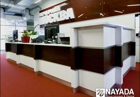 Reception counters in project Evening Moscow