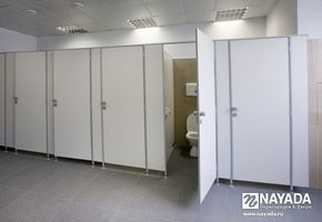 Sanitary partitions in project Evening Moscow