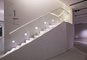 Railing System in project The Museum of Russian impressionism