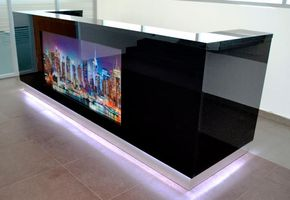 Reception counters in project Law company
