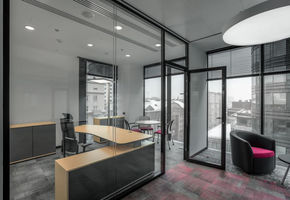Doors NAYADA-Magic in project The Servier office interior