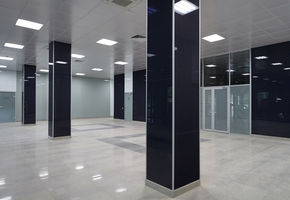 Сladding glass in project Chkalovsky Military Airport
