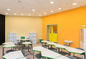 NAYADA-Fireproof EIW-45 in project The Skolkovo International Gymnasium in the Family Campus