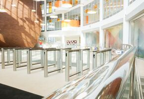 Railing System in project The Skolkovo International Gymnasium in the Family Campus