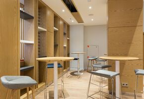 Office furniture. Workplaces in project Holiday Inn Express Sheremetevo