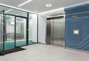 Doors Intero in project БЦ «Оазис»