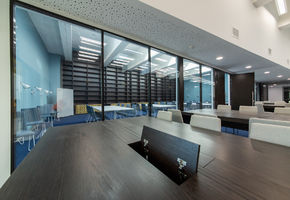 Office furniture. Workplaces in project Школа-кампус «Летово»