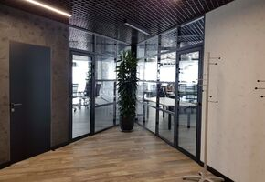 NAYADA-Standart in project New design for the stylish office of a large building holding Kesz.