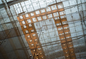 Сladding glass in project Radisson Blu Olimpiiskii