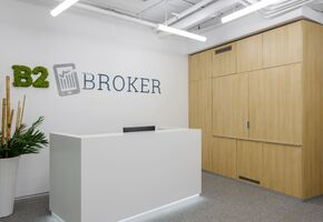 Reception counters in project B2Broker