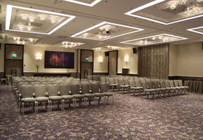 NAYADA took part in the design of the conference hall of the Radisson Blu Hotel., Kiev