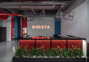 New office for IT-company BOOSTA., Kiev